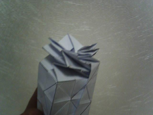 6.Наметить диагональ третьего